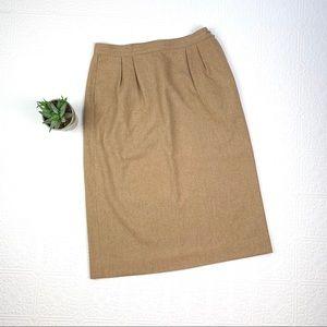 Vintage Virgin Wool Pendleton Skirt SZ 12